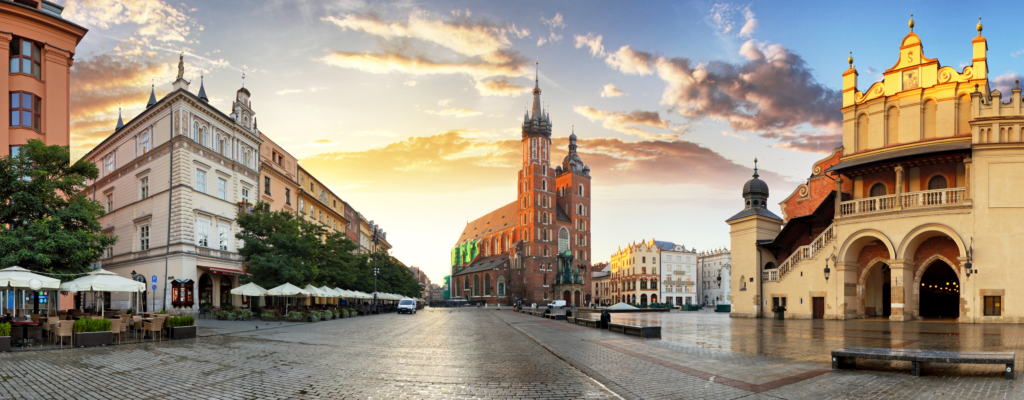 Como ir del aeropuerto a Cracovia